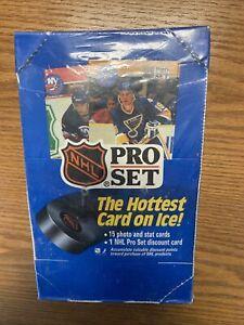 1990-91 Pro Set Series One Hockey (1) Factory Sealed Unopened Wax Box (36 packs)