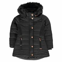 Firetrap Kids Girls Luxury Bubble Jacket Infant Puffer Coat Top Long Sleeve
