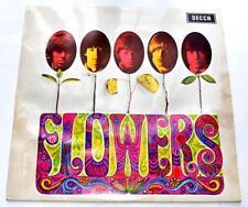 The Rolling Stones Flowers '67 Decca RS SLK16487P 1st Press DE Import Strong VG+