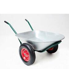 Schubkarre Schubkarren Bauschubkarre Gartenschubkarre 2 Räder 80 Liter / 150 kg