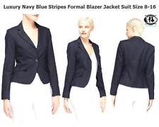 Button V-Neckline Formal Coats & Jackets for Women