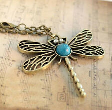 Retro Personality Pierced Dragonfly Necklace Sweater Chain Wholesale
