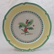 Villeroy & and Boch FRENCH GARDEN CHRISTMAS - dinner plate 26.5cm