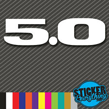 5.0 VINYL STICKER DECAL V8 RWD AMERICAN MUSCLE Fits GT SVT COBRA MUSTANG EMBLEM