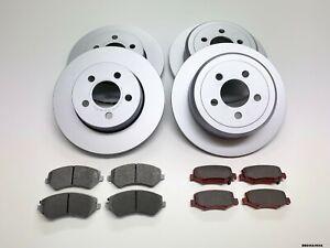 Front & Rear Brake Discs & Brake Pads for Dodge Nitro KA 2007-2011 BBD/KA/003A