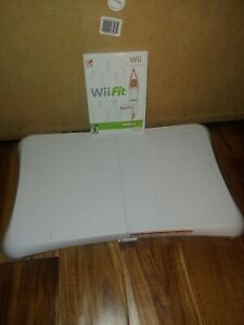 Nintendo Wii Fit Balance Board And Game: Bundle Lot with Manual