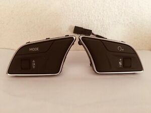 Pulsanti/ Tastini Comandi Al Volante Nuovi E Originali Audi A4 / A5