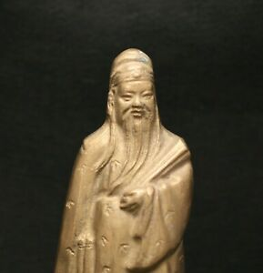 Fine Quality Heavy Gauge Vintage Chinese Solid Brass Statue