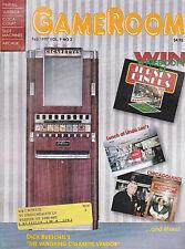 GameRoom Magazine Cigarette Vendor Coca-Cola Pinball Arcade  February 1997