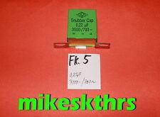 WIMA FKP Snupper Cap 0,22uF 0,22µF 3000- / 700~.. Fk.5*