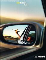 2002 Mazda 626 18-page Original Sales Brochure Catalog