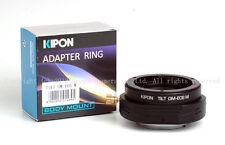 latest Kipon Tilt adapter for Olympus OM mount lens to Canon EOS M EF-M camera