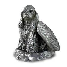 PEWTER Angel COCKER SPANIEL Dog Figurine Statue NEW
