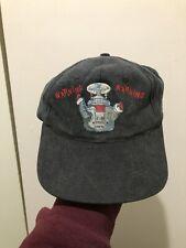 Vintage 90s Lost In Space B9 Robot Warning Warning Strapback Hat Cap Tv Show