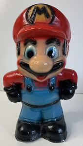 RARE Mario Bros Nintendo of America Porcelain  Coin Bank