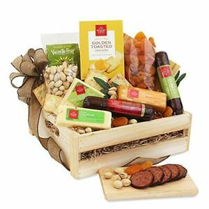 California Delicious Meat and Cheese Gift Crate