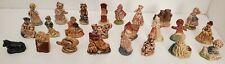 Vintage Wade Whimsies Red Rose Tea Figurines 24 Fairytale Favorites Some Htf