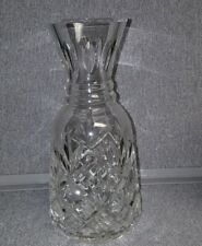 "Waterford Crystal Innisfree 9"" Water Wine Carafe Pitcher Excellent Condition"
