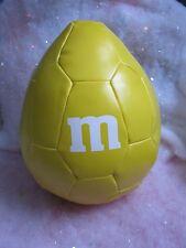 "2014 Stuffed Peanut M & M  m Ball Yellow UPC 129378374213 SKU 837421 Mars  9"""