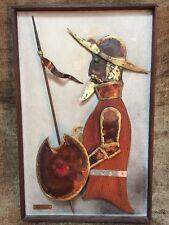 1974 Early Alex KOVACS Signed Art Sculpture Mid Century Wood & Metal Don Quixote