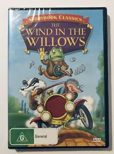 The Wind in the Willows DVD Storybook Classics NEW & SEALED** Region 4 Aus Movie