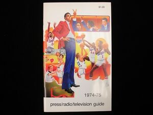 1974-75 Kansas City Kings Basketball Media Guide