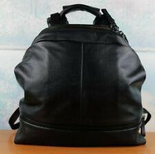 Cote & Ciel Alias Meuse Black Supple Leather Backpack large MADE IN FRANCE $900