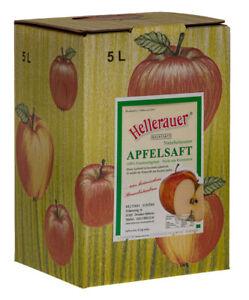 Apfelsaft naturtrüb, 4 x 5 Liter Bag in Box