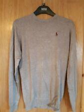 Men's Ralph Lauren Slim Fit Long Sleeve Shirt Grey / Tan BNWT