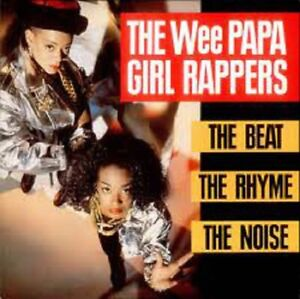 LP 33 The Wee Papa Girl Rappers ‎– The Beat, The Rhyme, The Noise - ITALY 1988