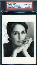Joan Baez PSA DNA Coa Signed Photo Autograph