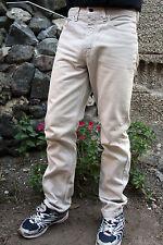 Levis 615 Vintage Denim Jeans Gerades Bein Größe W31 L32 Hellbraun 80s Orange Tab