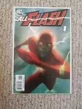 All Flash #1. (2007). NM. 9.4. Joshua Middleton cover and Mark Waid story.