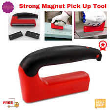 Large Magnetic Pickup Tool Strong Magnet Powerful With Handle100 Lb Lifting New