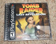 Tomb Raider Last Revelation Original Black (Sony Playstation 1 ps1) Complete