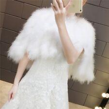 Wedding Shawl Fur Shawl Bride External Cover ostrich feather Shawl Cloak Coats