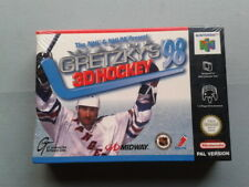 NINTENDO 64 GRETZKY´S 98 3D HOCKEY NHL NUEVO NEW PRECINTADO SEALED N64 PAL EUR
