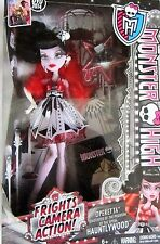 MONSTER HIGH FRIGHTS CAMERA ACTION! OPERETTA DOLL - NEW IN BOX