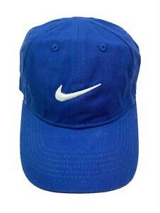 Nike Little Kids Boys Adjustable Cotton Embroidered Hat Cap Red Navy Grey Black