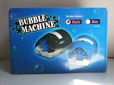 Electric Bubble Machine Black Bubble Blower Maker Party Bubble Machine Toy