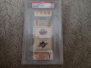 1991 WORLD SERIES Game 1 TICKET - PSA - MINNESOTA TWINS - MLB BASEBALL Metrodome