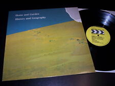 "Home And Garden ‎""History And Geography"" LP AFTER HOURS USA 1984"