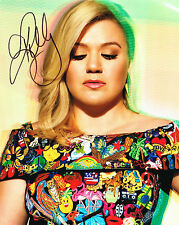 Kelly Clarkson SIGNED 8x10 Photo COA