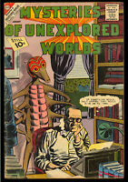 Mysteries of Unexplored World #28, 36, 44 GROUP (3 Comics) 1962 GD/VG to FN-