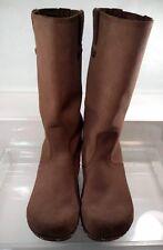 SANITA Professional Tall Boots Clogs Brown Women US 9 / 40