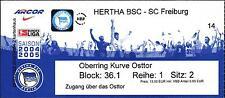 Ticket BL 2004/2005 Hertha BSC - SC Freiburg, 09.04.2005