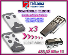 3 X Tecloma Tango 2 SLIM, Tango 4 SLIM Compatibile Telecomando, Clone