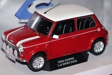 Mini Cooper Sport 1997 Red 1 18 Model 1800602 SOLIDO