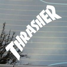 "BRAND NEW 7"" THRASER LOGO DECAL STICKER SKATE BOARD SKATER BMX SPORTS"