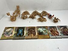 SpinMasters Bakugan Tan Subterra Lot of 11 Figures w/ 6 Cards - Brawler, Gear